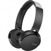 Bluetooth® Naglavne slušalice Sony MDR-XB650BT Preko ušiju Sklopive, Slušalice s mikrofonom, NFC Crna