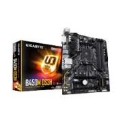 MB GIGABYTE B450M DS3H AMD 2A GENERACION S-AM4 RYZEN/4XDDR4 2933MHZ/4XUSB3.1/ HDMI/ DVI/ MICRO ATX/PC