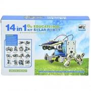 Bighub 14 in 1 Solar Robot Kit Toys for Kids, Educational and Learning Robotic Kit