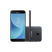 Smartphone Samsung Galaxy J5 Pro SM-J530G/DS, Octa Core, Android 7.0, Tela 5.2, 32GB, 13MP Frontal com Flash, Leitor Digital, Dual Chip, Desbl - Preto
