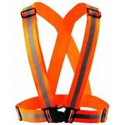 Green Home safety reflective adjustable vest belt high visibility gear stripe