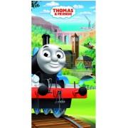 Thomas a gőzmozdony törölköző fürdőlepedő