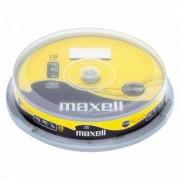 CD-RW80 MAXELL, 700MB, 52x, 10 бр., ML-DC-CDRW-10-CAKE