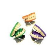 Wind-Up Chomping Monster Teeth/1 DOZEN