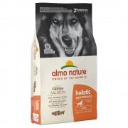 12кг Holistic Adult Large Almo Nature суха храна за кучета, сьомга и ориз