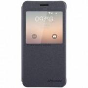 Husa Book Nillkin Sparkle pentru Samsung Galaxy Alpha G850F Negru