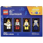 LEGO Bricktober Athletes Minifigure Set (Tennis Player, Race Car Driver, Surfer, and Hockey Player) 5004573