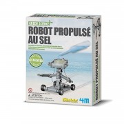 Kit De Fabrication Green Science : Robot Propulsé Au Sel