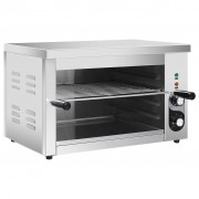 vidaXL Salamandre Gastronorm électrique 3000 W Acier inoxydable