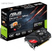 Asus Geforce GTX970 4Gb DDR5 256bit Mini small form Factor Graphics Card