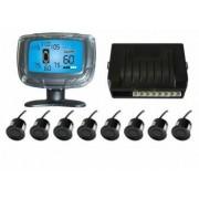 Senzori parcare fata spate cu 8 senzori si display LCD 675112