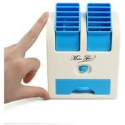 Mini USB Fragrance Air Cooling Fan Portable Desktop Air Conditioner Mini Air Cooler Mix Colour PowerCode-C45