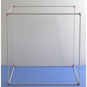 Metru cub demontabil - plastic
