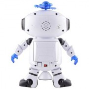 Sensor Operated Dancing Robot with LED Light and Music