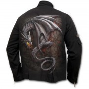veste pour hommes SPIRAL - Obsidian - Noire - M016M652