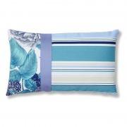 La Forma Sierkussen Marine blauw design 100% acryl (30 x 50 cm)