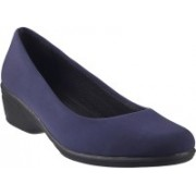 Mochi Classic Slip On Shoes For Women(Blue)