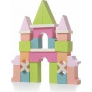 Jucarie din lemn Cubika Set constructii Castel