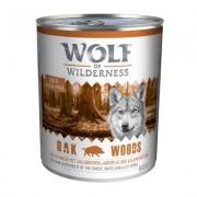 6 x 800 g Wolf of Wilderness Wild Hills - Eend Hondenvoer