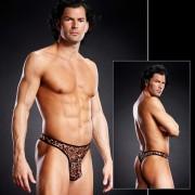 Blue Line Pro-Mesh Thong Underwear Leopard BLM010
