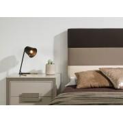 Portavelas de diseño industrial BREE, Metal Niquel