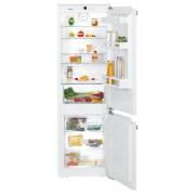 Combină frigorifică încorporabilă Liebherr ICN 3314, 256 L, NoFrost, SuperFrost, Siguranţă copii, Display, Control taste, H 178 cm, Clasa A++