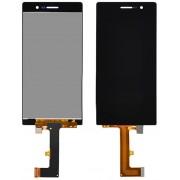 Дисплей + Tъч скрийн за Huawei Ascend P7 Черен