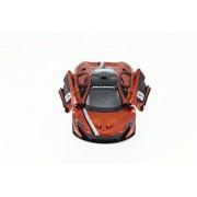 McLaren P1 with Prints, Orange - Kinsmart 5393DF - 1/36 Scale Diecast Model Toy Car