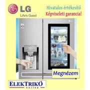 LG GSX961NEAZ side by side hűtő látvány üvegajtóval