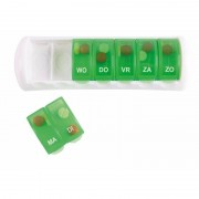 Comfort Aid Groen pillen verdeelbox 7 daags