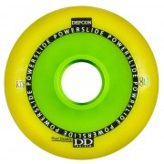 Powerslide Defcon RTS 80mm yellow (4buc) -