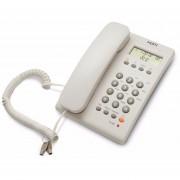 Teléfono Alámbrico Misik MT883 Para Casa Con Identificador De Llamadas-Blanco