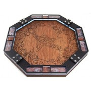 Dice Tray~Wood with Laser Etched Eldritch for Games, Gaming ~ C4Labs
