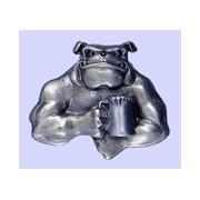 Hebilla bulldog jarra de cerveza