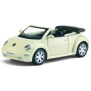 Flying Toyszer 2003 Volkswagen New Beetle Convertible Kinsmart Diecast Toy Car (Multicolor)