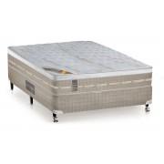 Colchão Castor de Molas Pocket Premium Amazon Euro Pillow - Colchão Queen Size - 1,58x1,98x0,32 - Sem Cama Box