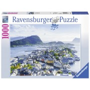 PUZZLE ALESUND, 1000 PIESE - RAVENSBURGER (RVSPA19844)