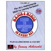 Jamey Aebersold Aebersold: Major and Minor Vol. 24, incl. CD
