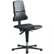 Werkplaatsstoel Bimos Sintec ESD-veilig - Laag - Op glijdoppen