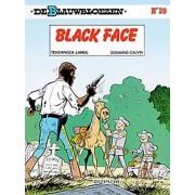 Blauwbloezen 20. black face