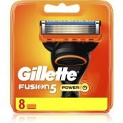 Gillette Fusion5 Power recambios de cuchillas 8 ud