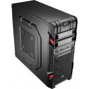 Aerocool GT Advance Midi-Toren Zwart computerbehuizing