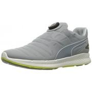 Puma Men s Ignite Disc Running Shoe Quarry/Puma White/Satin 9 D(M) US