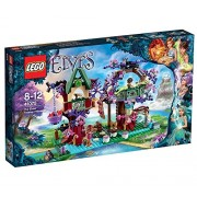 Lego elf hideout on the tree 41075