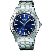 Casio Enticer Analog Blue Dial Mens Watch - Mtp-1243D-2Avdf (A217)