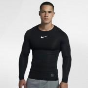 Hautà manches longues Nike Pro pour Homme - Noir