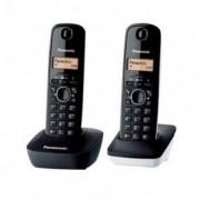 Panasonic KX-TG1612 Dúo Teléfono Inalámbrico Dect Negro