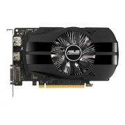 ASUS PH-GTX1050-2G - Carte graphique - NVIDIA GeForce GTX 1050 - 2 Go GDDR5 - PCIe 3.0 x16 - DVI, HDMI, DisplayPort