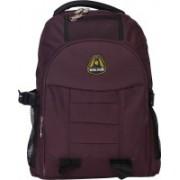 Exel Bags Exel Laptop Backpacks 25 L Laptop Backpack(Maroon, Black)