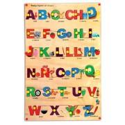 Skillofun Wooden Spanish Alphabet Picture Tray, Multi Color